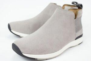 Vionic Cece Womens Size US 9 Light Gray Suede Ankle Bootie Comfort Walking Shoes