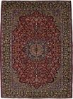 Vintage Floral Traditional Classic Large 9'8X13'5 Oriental Rug Home Decor Carpet