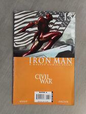 IRON MAN VOL 4 N° 13 / 14 CIVIL WAR SET COMPLET VO VERY FINE