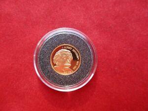 North Marianen 5 Dollar 2004 Albert Einstein 999 Gold Au 1/25 Unze PP proof RARE