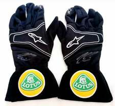KIMI RAIKKONEN signed ALPINESTSARS LOTUS F1, Formula 1 gloves +COA