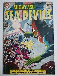 Showcase (1956) #28 - Good - Sea Devils, grey tone cover