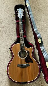 Taylor 414ce LTD v-class sinker redwood acoustic electric guitar w/ case