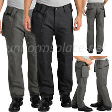 Dickies Pro Pants Men Relaxed Fit Straight Leg Double Knee Pant JU800 Black Gray