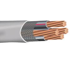 40' 1-1-1-3 Stranded Copper SER Service Entrance Cable PVC Jacket Gray 600V