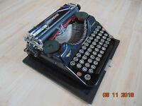 Alte CONTINENTAL Reise Schreibmaschine Wanderer Werke Walteher&Sohn Antik