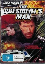 THE PRESIDENT'S MAN - CHUCK NORRIS - NEW & SEALED DVD