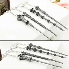 Creative Children Harry Potter Magic Wand Metal Key Chain Ring Toys Gift