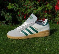 BNWB & Genuine Adidas Originals ® Busenitz White Green & Gum Sole Trainers UK 7
