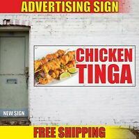 8 Grommets Vinyl Banner Sign Chicken Sandwiches #1 Style A Outdoor Marketing Advertising White Multiple Sizes Available One Banner 48inx96in