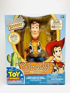 Toy Story Signature Collection Woody Roundup BLUE Cloud Label Logo 1st First