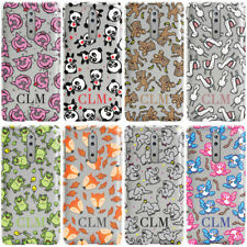 DYEFOR PERSONALISED ANIMALS INITIALS CLEAR PHONE CASE COVER FOR NOKIA