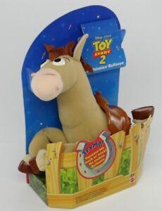 DISNEY PIXAR TOY STORY 2~WILD WHINNIES BULLSEYE~Woody's Plush Horse~Mattel 23610