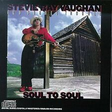 Stevie Ray Vaughan : SOUL TO SOUL CD