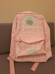 Officially Licensed Pusheen The Cat Pink Backpack Back Pack Bag