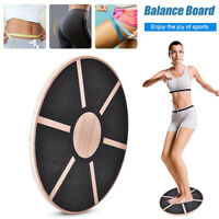 Wooden Wobble Balance Board for Fitness Training Rehabilitation Exercise