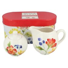 0124.241 Meadow sugar & 10oz creamer in giftbox By Arthur Wood  Retail £7.99