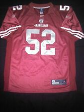 San Francisco 49ers Patrick Willis Sz 50 Reebok Onfield Authentic Red Jersey NWT