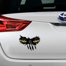 Nuevo mal Garra Monster espiar coche gracioso Novedad Sticker Etiqueta De Vinilo De Regalo S