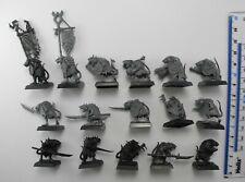 16 Isla de Sangre SKAVEN CLANRATS Plástico los clanes Verminus ejército Warhammer 63