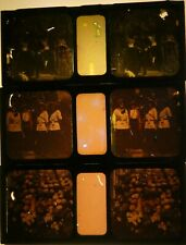 More details for three early 20th century glass autochrome stereoviews