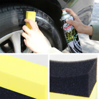 Auto Wheels Brush Sponge Tools Applicator Tire Hub Cleaning Waxing Polishing