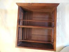 Wooden two shelf unit for display or spices