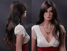 Female Wig Mannequin Head Hair Long Wig #WG-ZL174-2T33