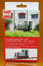 Busch 7849 H0 Feldbahnlok mit Ankurbler