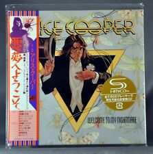 Alice COOPER Welcome To My Orig. 2012 JAPAN Mini LP SHM-CD WPCR-14306 Sealed NEW