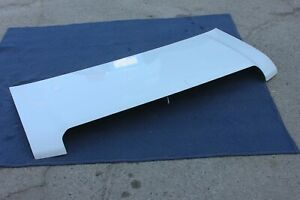 08-14 FORD ECONOLINE E150 E250 E350 HOOD PANEL WHITE GENUINE OEM EXCELLENT