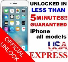 5  MINUTE  FACTORY UNLOCK SERVICE  AT&T CODE ATT for IPhone 3 4 5 5S 6 6s SE 7 8