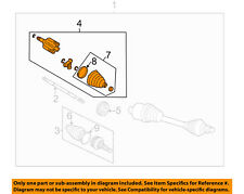 GM OEM Drive Axle-Front Suspension-Inner Joint Assembly Left 88965608