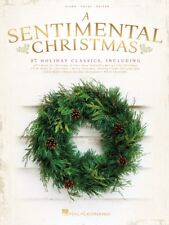 A Sentimental Christmas Book Sheet Music Piano Vocal Guitar SongBook 000236830
