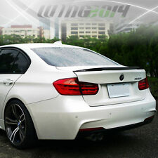 12-15 Paint BMW 328i 335i 320i 4Dr F30 Performance Trunk Spoiler + Roof Wing