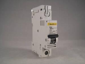 Square D KQ MCB 10 Amp Type C Single Pole 10A Circuit Breaker C10 KQ10C110