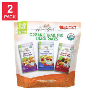Nature's Garden Organic Trail Mix 24-count, 2-pack