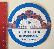 Aufkleber/Sticker: Paleis Het Loo - Rijksmuseum Apeldoorn (170516200)