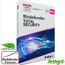 Bitdefender TOTAL SECURITY 2020 Multi-Device + VPN | 5 Geräte 1Jahr | DE-Lizenz