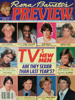 Rona Barrett Preview Magazine November 1979 - Tvs New Men Sexy - No Label - EX
