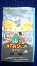 MEGA RARE BRAND NEW & SEALED HEY ARNOLD THE MOVIE VHS VIDEO TAPE *1395