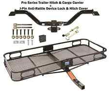 07-09 SATURN OUTLOOK TRAILER TOW HITCH + CARGO BASKET CARRIER + SILENT PIN NEW