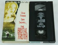 The Brutal Truth VHS A-Pix Entertainment Home Video Christina Applegate