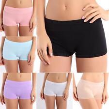 Summer Women Ladies Dancing Sport  Safety Underwear Shorts Spandex Elastic Pants