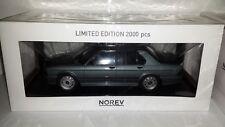 Norev 1:18 BMW M535i E28 1986 grijsmetallic nieuw in doos