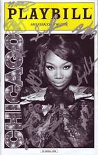 Chicago Signed Autographed Cast Playbill ( Brandy Norwood )