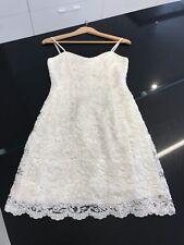 Short White Sequins Dress Or Wedding Dress