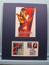 Jennifer Garner as Marvel's Elektra, Daredevil's girl friened & First Day Cover