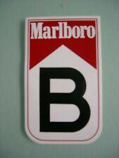 Sticker autocollant :  Marlboro  B