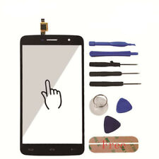Touch Screen Glass Digitizer Panel Lens Tools + Adhesive For HOMTOM HT17 HT 17